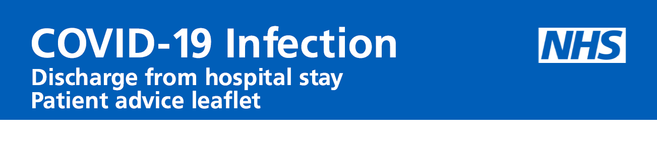 Discharge from hospital stay – patient advice leaflet